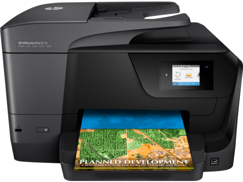 Multifuncional HP OfficeJet Pro série 8710
