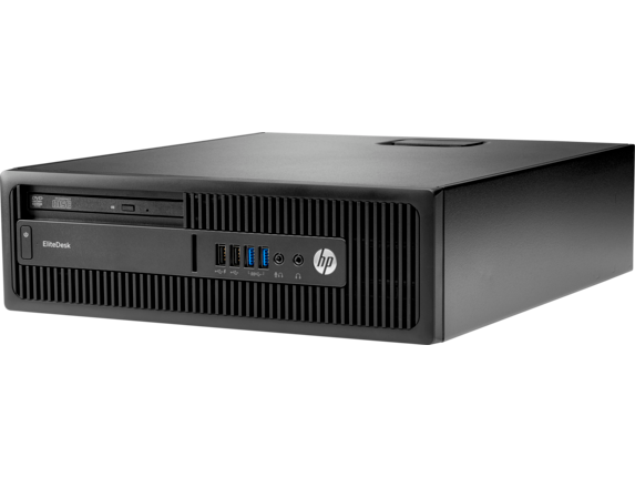HP EliteDesk 705 G3 Small Form Factor PC - Left