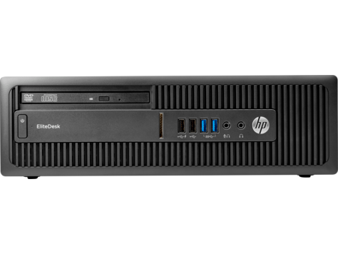 PC HP EliteDesk 705 G3 con factor de forma reducido
