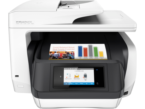 Серия принтеров HP OfficeJet Pro 8720 All-in-One