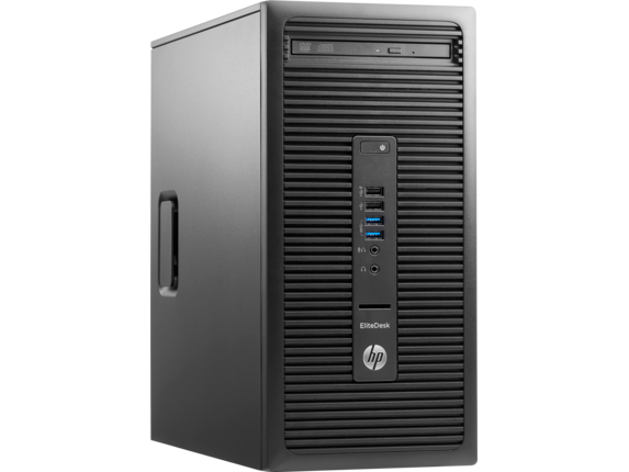 HP EliteDesk 705 G3 Microtower PC - Right