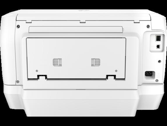 HP OfficeJet Pro 8216 Printer - Rear