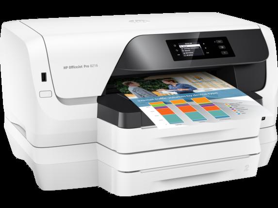 HP OfficeJet Pro 8216 Printer - Right