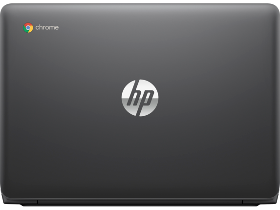 HP Chromebook - 11-v010nr - Rear