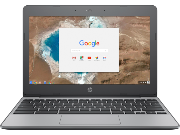 HP Chromebook - 11-v010nr - Center