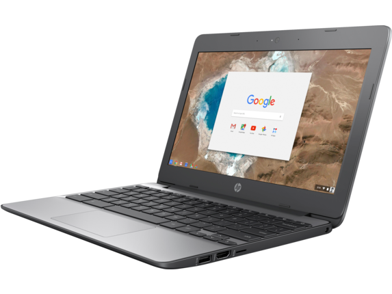 HP Chromebook - 11-v010nr (ENERGY STAR) - Left