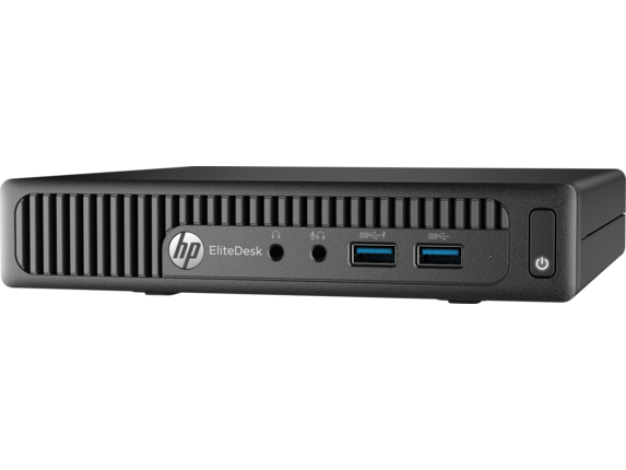 HP EliteDesk 705 G3 Desktop Mini PC (ENERGY STAR) - Left