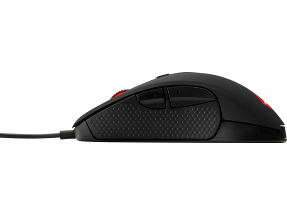 OMEN by HP Mouse with SteelSeries - Left profile closed