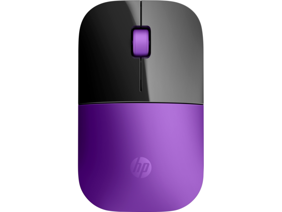 HP Z3700 Purple Wireless Mouse - Center