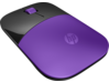 HP Z3700 Purple Wireless Mouse - Right