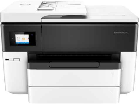 HP Officejet Pro 7740 All-in-One-Großformatdruckerserie