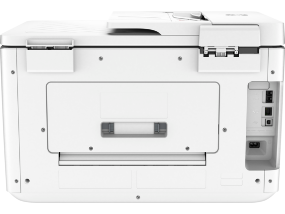 HP OfficeJet Pro 7740 Wide Format All-in-One Printer - Rear