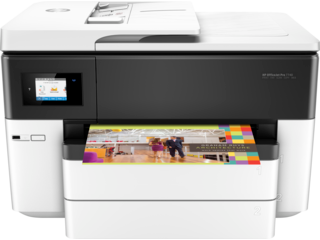 HP OfficeJet Pro 7740 Wide Format All-in-One Printer - Img_Center_320_240