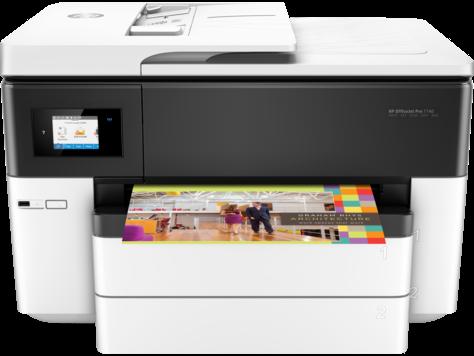 HP OfficeJet Pro 7740 széles formátumú All-in-One nyomtató