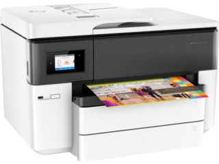 HP OfficeJet Pro 7740 Wide Format All-in-One Printer - Img_Right_320_240