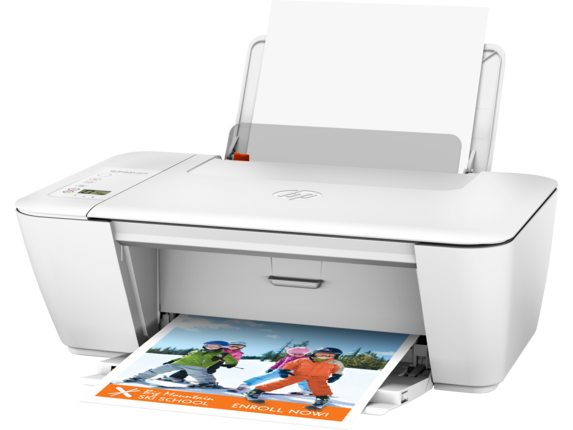 HP Deskjet 2540 All-in-One Printer - Left