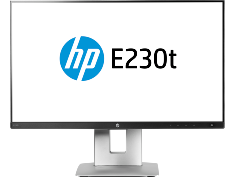 HP EliteDisplay E230t-23-Zoll-Monitor mit Touch-Funktion, nur Display