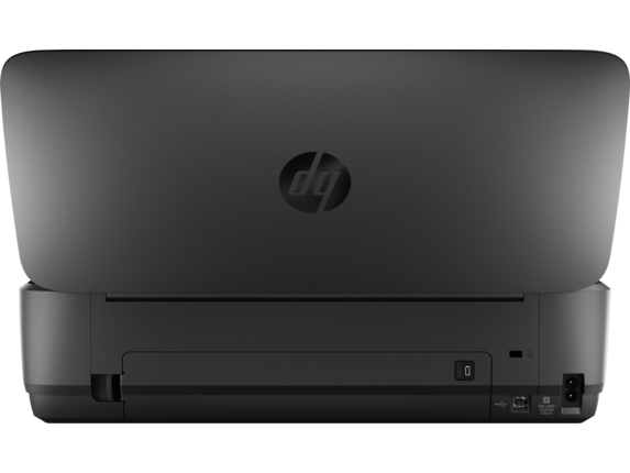 HP OfficeJet 250 Mobile All-in-One Printer - Rear open
