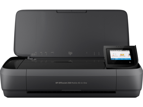 Impressora HP OfficeJet All-in-One Móvel série 250