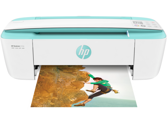 HP DeskJet 3755 All-in-One Printer - Center