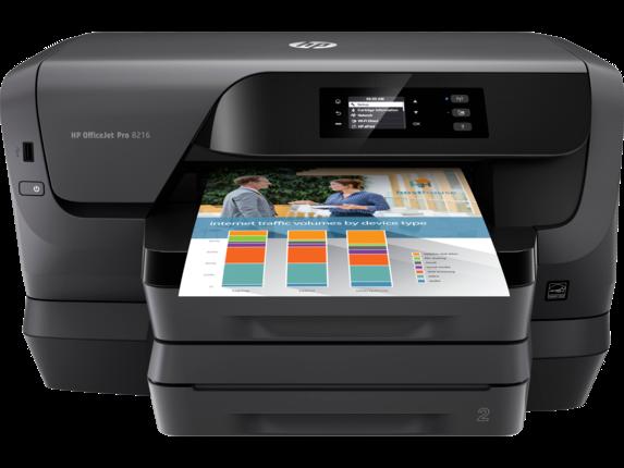 HP OfficeJet Pro 8216 Printer - Center