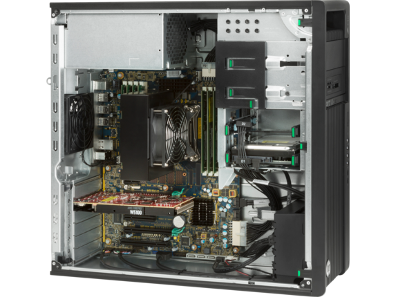 HP Z440 Workstation - Right profile closed