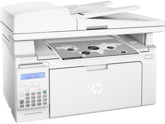 HP LaserJet Pro MFP M130fn - Right