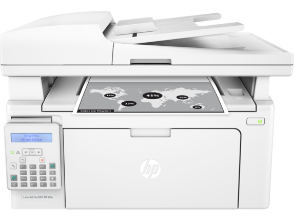 HP LaserJet Pro MFP M130fn - Center