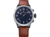 Tommy Hilfiger TH24/7 Smart Watch - Stainless Navy Brown Strap - Center