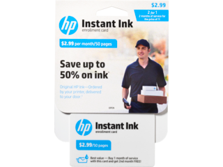 HP Instant Ink Enrollment Card - 50 page plan - Img_Center_320_240