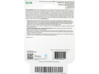 HP Instant Ink Enrollment Card - 100 page plan - Rear