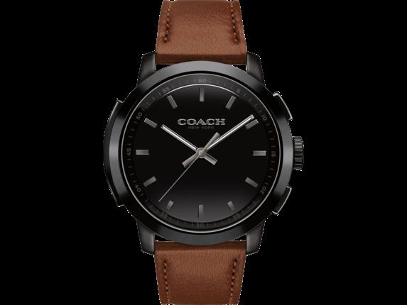 Coach Bleecker Smart Watch - Saddle Strap - Right