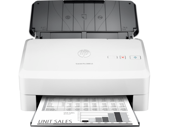 HP ScanJet Pro 3000 s3 Sheet-feed Scanner - Center