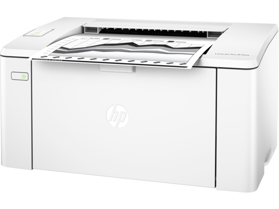 HP LaserJet Pro M102w Printer - Left