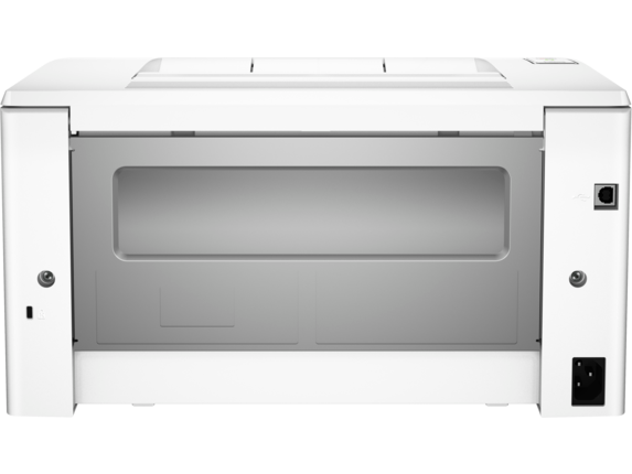 HP LaserJet Pro M102w Printer - Rear