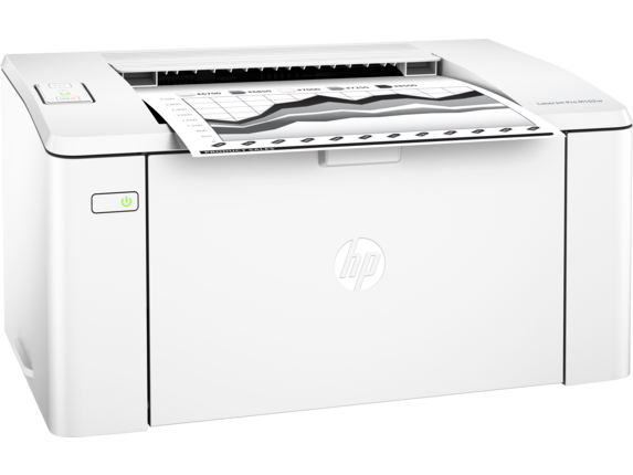 HP LaserJet Pro M102w Printer - Right