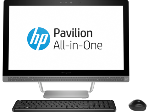 PC desktop All-in-One HP Pavilion 24-b100