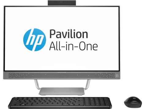 HP Pavilion 24-A100 All-in-One Desktop PC-Serie