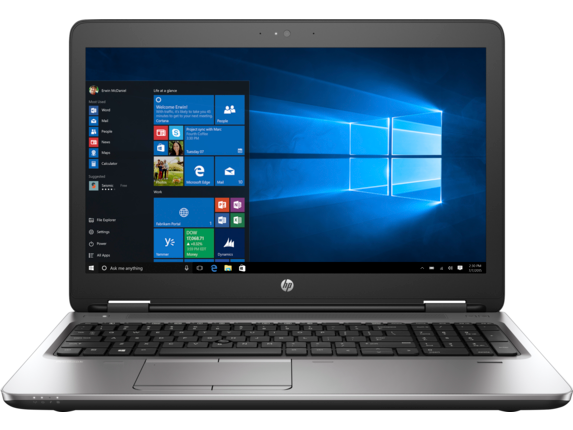 HP ProBook 655 G3 Notebook PC (ENERGY STAR) - Center