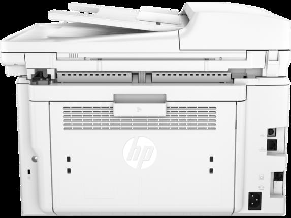 HP LaserJet Pro MFP M227fdw - Rear