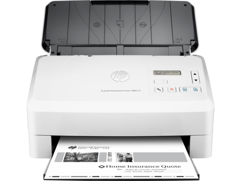 Scanner avec bac d'alimentation HP ScanJet Enterprise Flow 7000 s3