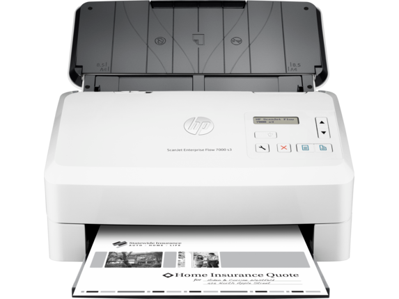 HP ScanJet Enterprise Flow 7000 s3 Sheet-feed Scanner - Center