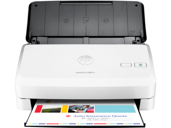 HP ScanJet Pro 2000 s1 Sheet-feed Scanner - Center