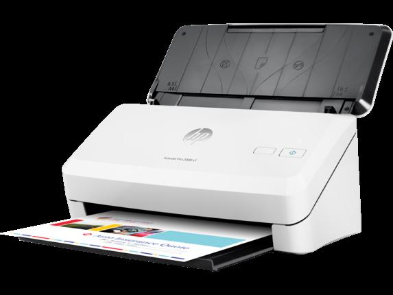 HP ScanJet Pro 2000 s1 Sheet-feed Scanner - Left