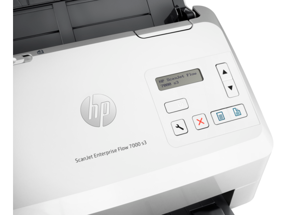 HP ScanJet Enterprise Flow 7000 s3 Sheet-feed Scanner - Detail view