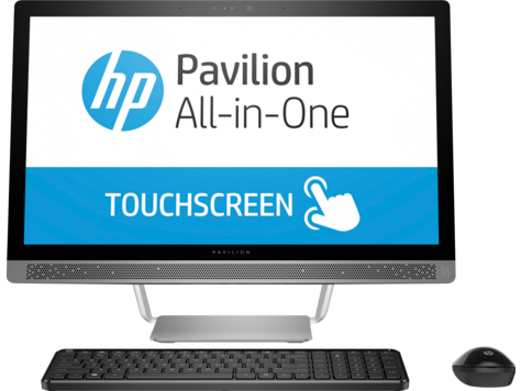 HP Pavilion 24-b000 All-in-One stasjonær PC-serie (berøring)