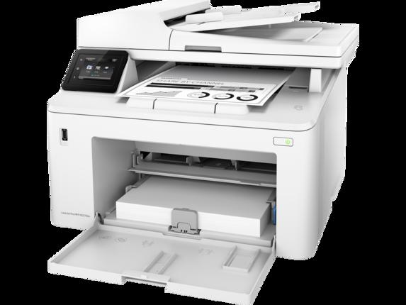 HP LaserJet Pro MFP M227fdw - Left