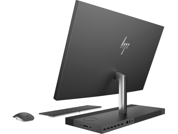 HP ENVY All-in-One Desktop - 27 - b220qd - Left rear