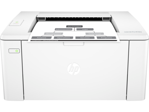 HP LaserJet Pro M102 Printer series