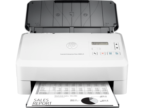 HP ScanJet Enterprise Flow 5000 s4 scanner met automatische invoer